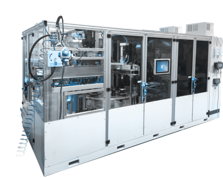 Nový montážní a kontrolní stroj pro automotive